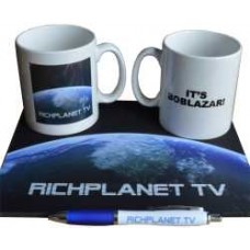 Richplanet Mug, Pen & Mousemat